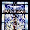 Dumbarton stained glass panel